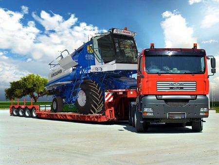 Такелажные работы и грузовые перевозки негабаритных грузов
