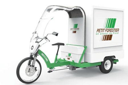 Грузоперевозки на трехколесных велосипедах