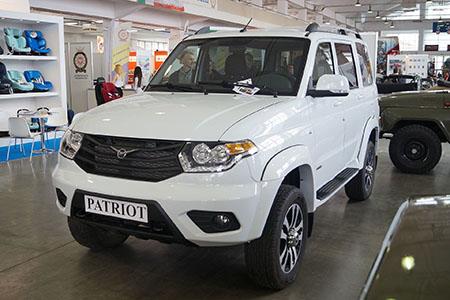 УАЗ Патриот. Перевозка габаритных и негабаритных грузов